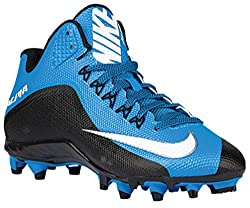 Nike Alpha Pro 2 3/4 TD PF Mens Football Cleat (13 M US, Heritage Cyan/White-Black)