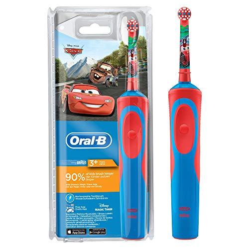 Oral-B Kids Elektrische Zahnbürste Mit CarsFiguren - Elektronische Jahr 1 Zahnbürste