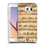 Head Case Designs Mozart Partitions Musicales Étui Coque En Soft Gel Samsung Galaxy S6 G920, Galaxy S6 Duos