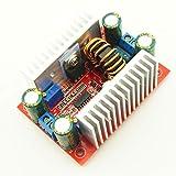 Noradtjcca Módulo convertidor de potencia CC-CC 400W 15A Módulo de potencia ascendente Transformador de Fuente de alimentación de corriente constante