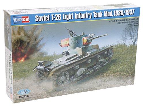 Hobby Boss 83810 - Modellbausatz Soviet T-26 Light Infantry Tank Model -1936
