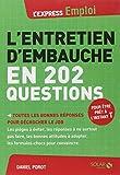 L'ENTRETIEN D'EMBAUCHE EN 202 QUESTIONS
