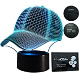 InnoWill LED Lampe Baseball Cap Geschenk 7Colors