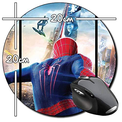 The Amazing Spider-Man Spiderman 2 Tappetino per Mouse Tondo Round Mousepad PC