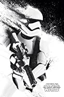 Star Wars: Episodio VII Poster - Pittura Stormtrooper