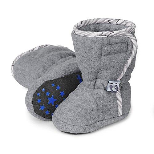 Sterntaler Unisex Baby Stiefel, Grau (Silber-Melange 542), 21/22 EU