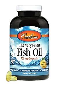 Carlson Labs VFFO Lemon 240 Softgels