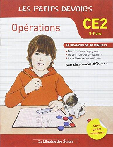 Les petits devoirs opérations CE2