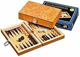 Philos 1170 - Gioco Backgammon Korinth, Mini, Versione da Viaggio