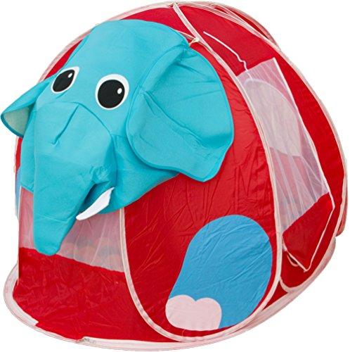 Beach & Pool Bällebad Elefant Pop-Up incl. 100 Bälle Spielzelt Babyzelt Kinderzelt BS004