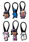 Doc Mc Stuffins Silicone Snap Lock Zipper Pulls 6 Pcs Set #1