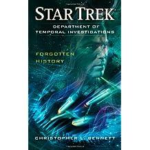 Department of Temporal Investigations: Forgotten History (Star Trek)