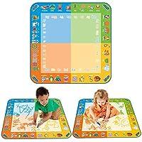 TOMY 72370 Kids Fun Classic Colour Aquadoodle Mat with 1 Aquadoodle Pen
