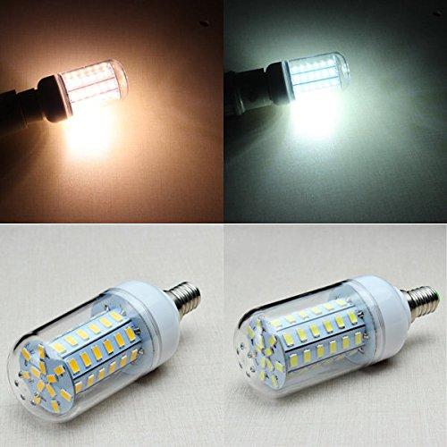 130v Glühlampe (Bazaar E14 8W 1300LM 60SMD 5730 LED Mais-Glühlampe AC 110-130V)