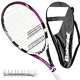 Generic Babolat Drive Lite L3 - Tennisschläger besaitet + FullCover + Vibra (Pink)