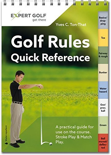 Golf Rules Quick Reference 2016: Single Copy by Yves C. Ton-That (2016-02-24)