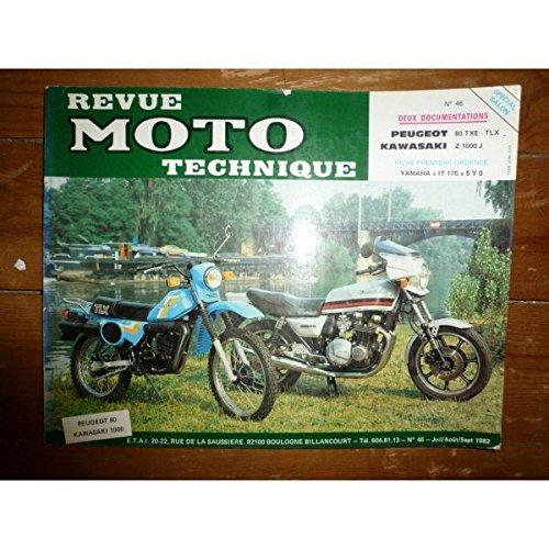 Rmt- Revues Techniques Moto - 80TXE TLX Z1000J Revue Technique moto Kawasaki Peugeot Etat - Bon Etat Occasion
