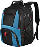 17 inch Laptop Backpack, Large Compartment USB Laptop Rucksack, Water Resistant Travel Hiking