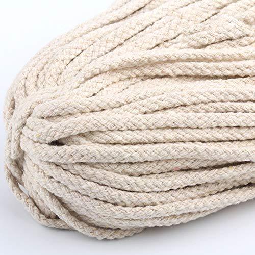 Cuerda trenzada hecha mano DIY decoración colorida