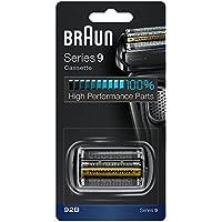 Braun 92B - Recambio y Repuesto para Afeitadora Eléctrica Compatible con las Máquinas de Afeitar Series 9, Negro