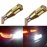 Katur LED-Leuchtmittel für Rückfahrlicht, 2-teiliges Set,DC12V Canbus Auto LED W16W LED T154014CREE SMD