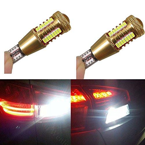2 lumières de recul KaTur 12 V DC, CANbus, LED, avec puces CREE, W16W T15 4014.