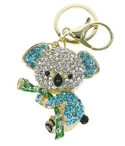 cooplay-bella-koala-bear-animale-diamond-strass-oro-cristallo-portachiavi-charm-pendente-bellissimi-