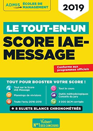Le Tout-en-un Score IAE-Message - SIM 2019 par Collectif