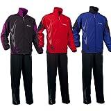 Tibhar veste de survêtement Boomerang, options d' XS, Rouge / Noir