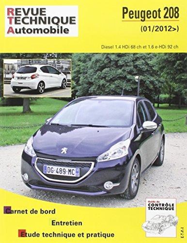 Revue Technique b787 Peugeot 208 2012-03->