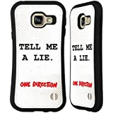 Officiel One Direction Lie Up All Night Étui Coque Hybride pour Samsung Galaxy A3 (2016)