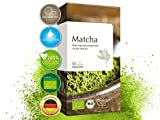 Bio Matcha 60 Kapseln hochdosiert, Vegan