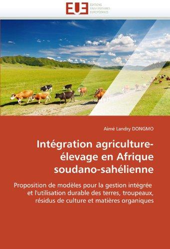 Intégration agriculture-élevage en afrique soudano-sahélienne