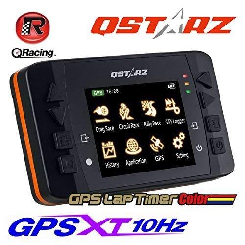 Qstarz LT-Q6000S MX LCD-Runden-Zähler, Farb-Display, 10Hz GPS-Daten-Messgerät & Analyse Software, für Motorrad & Fahrrad (Daten-analyse-software)