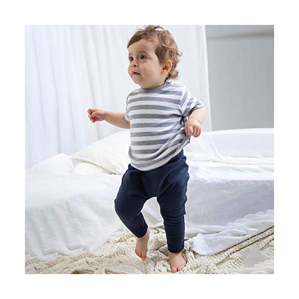 Babybugz Baby Leggings Algodón Soft Stretch Boy Girl Pantalón Pantalón 3