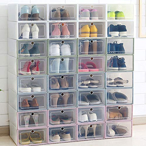 Garciadia Durable Plastic Drawer Boxes Fall Transparente Schuhe Box Home Organizer Sneakers Organisation Storage Schuhschrank