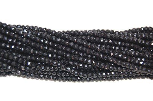 be-you-3-4mm-rondelle-sfaccettato-spinello-nero-naturale-della-pietra-preziosa-perline-13-strand