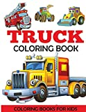 Best Toddler Truck Books - Truck Coloring Book: Kids Coloring Book with Monster Review