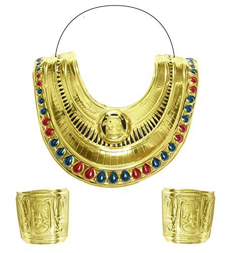Panelize Cleopatra Kleopatra Kragenschmuck + Armschmuck Orient ()