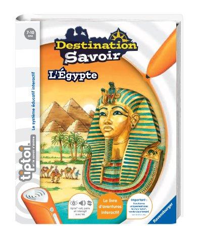 Ravensburger 00594 Triptoi Destination Savoir - Juego educativo sobre Egipto (contenido en francés)