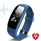 Fitness Tracker HR Lintelek Aktivität Tracker fitness armband mit integrierter