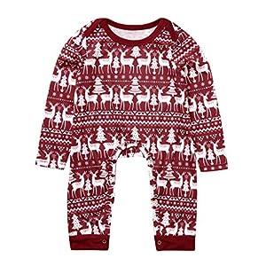 Kanlin1986 Pijamas Dos Piezas Familiares De Navidad, Conjuntos NavideñOs De AlgodóN para Mujeres Hombres NiñO Bebé, Ropa para Dormir OtoñO Invierno Sudadera CháNdal SuéTer De Navidad 2