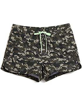 HAIYOUVK Spa Couples Parenting Beach Pants Men'S Quick-Drying Loose Large Size Elastic Women'S Camouflage Children'S...