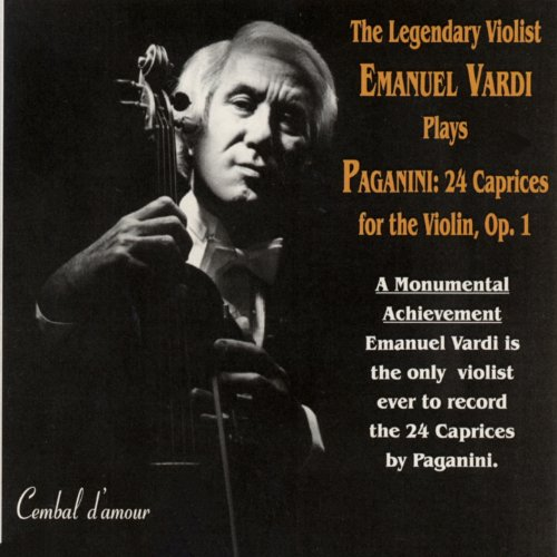24 Caprices for the Violin, Op.1: Caprice No. 24, Tema con variazione in B-Flat Major (Transcribed for Viola by Emanuel Vardi)