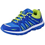 Lancer Men's Blue Green Mesh Sports Running Shoes 9 UK