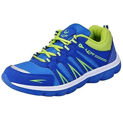 Lancer Blue Green Men's Sports Running Shoes 6 UK