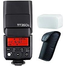 Godox Mini TTL GN36 Hss 1/8000s 2.4GHz Flash Godox TT350 Flash Speedlite (Godox TT350O Camera Flash Speedlite)