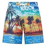 RAISEVERN Ragazzi 3D Stampati Divertenti Costumi da Bagno per Sport da Spiaggia Quick Dry Sports Running Short Shorts Board Vacation Style