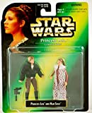 STAR WARS - PRINCESS LEIA COLLECTION - 2-Pack : Prinzessin Leia + Han Solo - Figuren ca. 9 cm groß