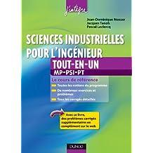 Sciences industrielles pour l'ingénieur MP, PSI, PT tout-en-un